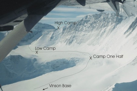 Vinson camps