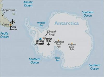 Vinson map